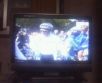 神宮外苑クリテリウムのテレビ番組