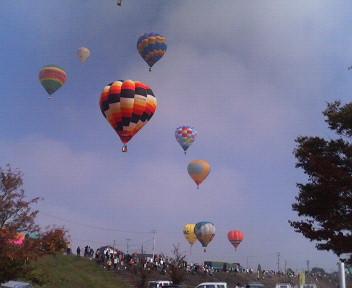 気球の写真は